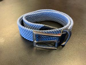 Equiline Elastiskt bälte Duvblå 80cm