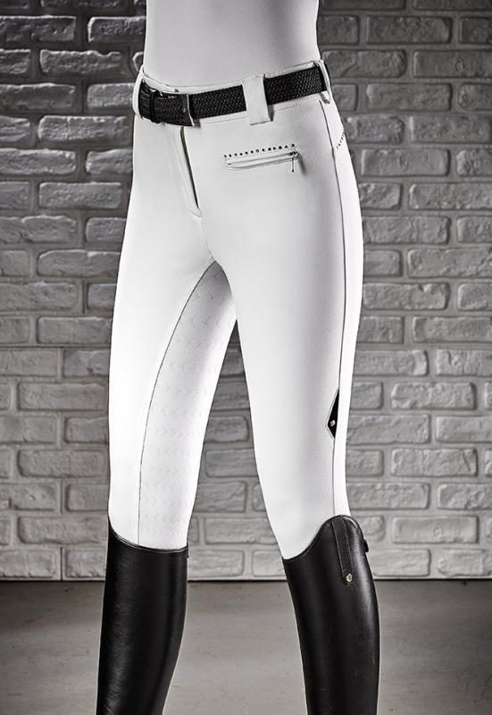 Equiline Cecile ridbyxor full grip vit it44