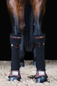 Equito bandagunderlägg black bronze