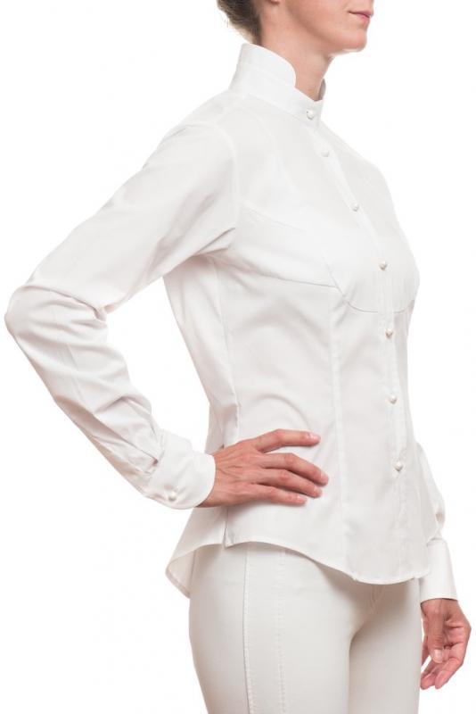 Droska långärmad skjorta Irma Vit