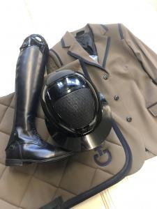 Cavalleria Toscana GP Riding jacket Mörkgrön