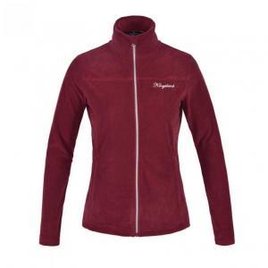 Kingsland Fleece tröja KLdanielle - Burgundy