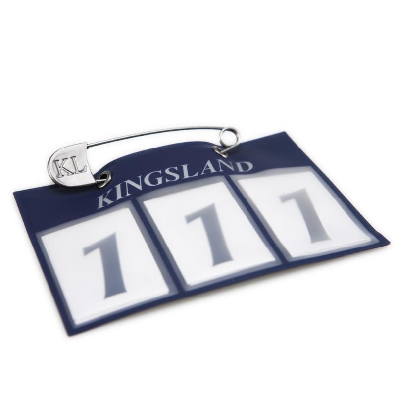 Kingsland nummerlapp 3-siffror - Marin
