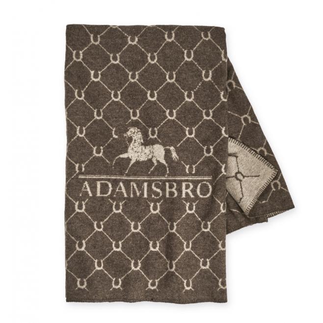 Adamsbro Luxe Merino Horseshoe Pläd