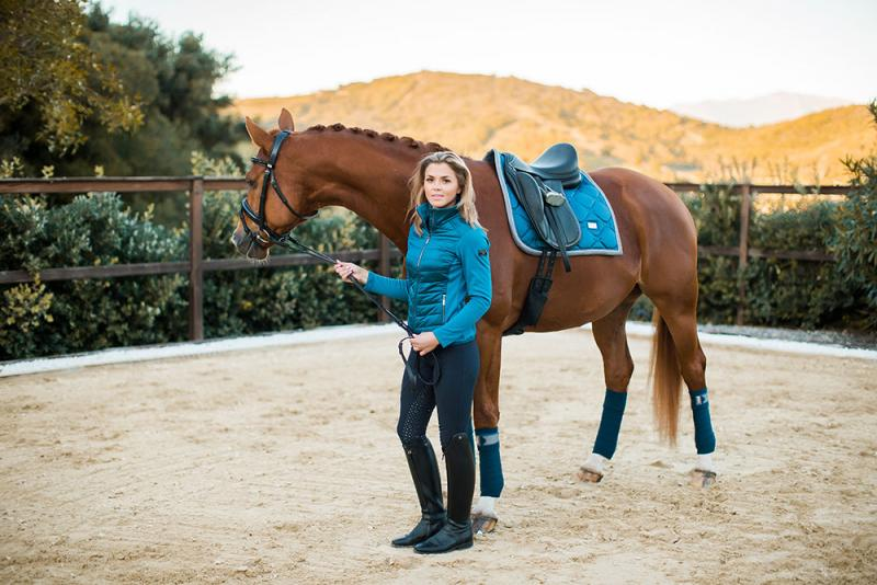 Equestrian Stockholm Active Performance Jacka Moroccan Blue