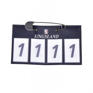 Kingsland nummerlapp 4 siffror