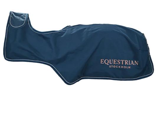 Equestrian Stockholm Ländtäcke Monaco Blue