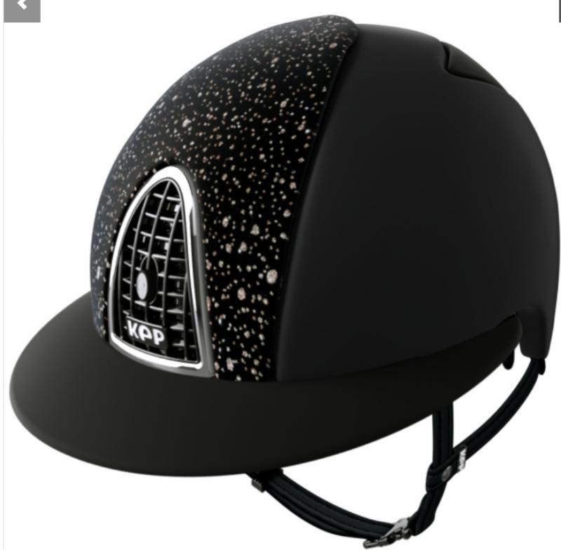 KEP Cromo Textile Polo - Sparkling Black