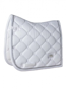 Equestrian Stockholm Dressyrschabrak White Perfection Silver