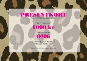 Giftcard 1000kr