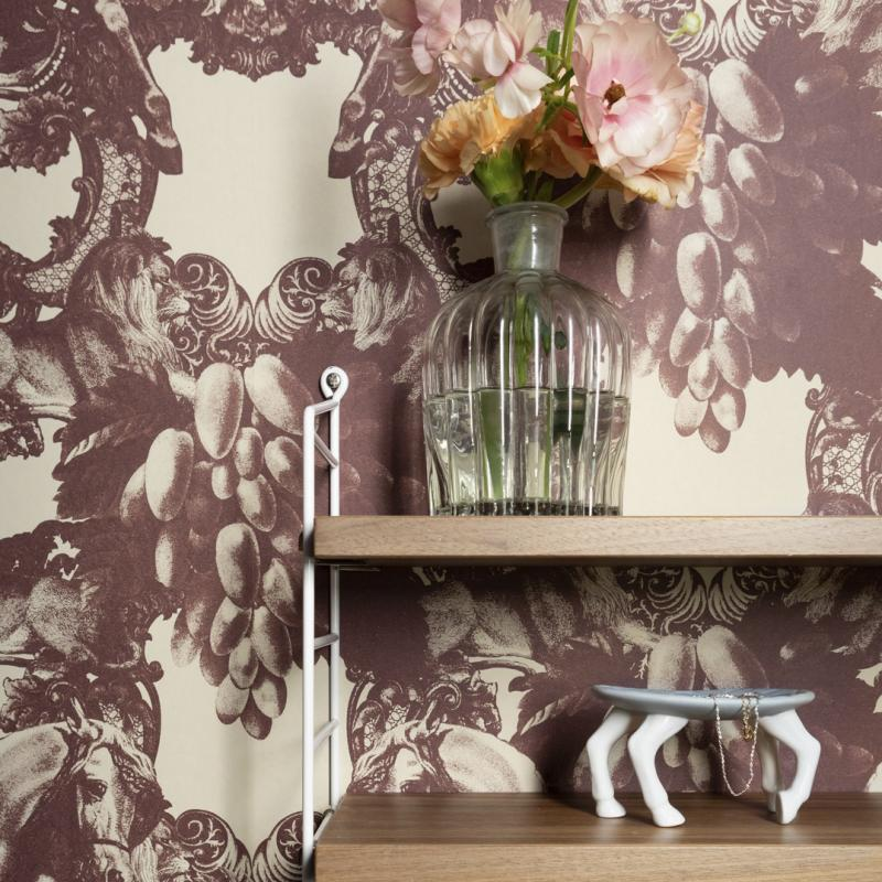 Wallpaper Sir Grace dusty pink