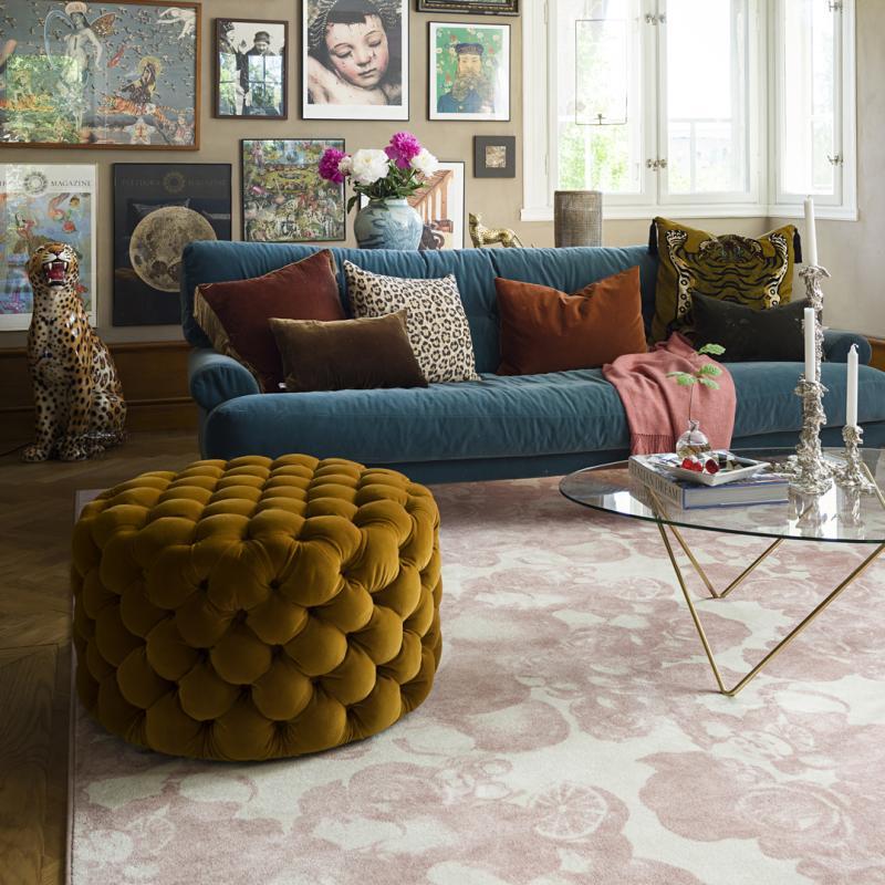 Carpet pink Boudoir