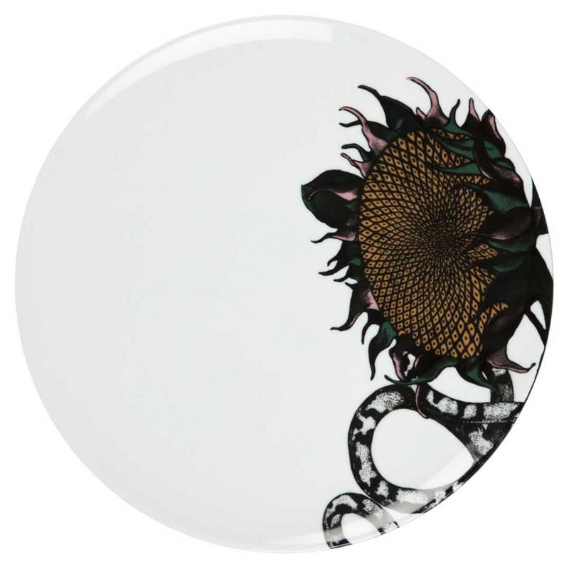 Plate Sunflower