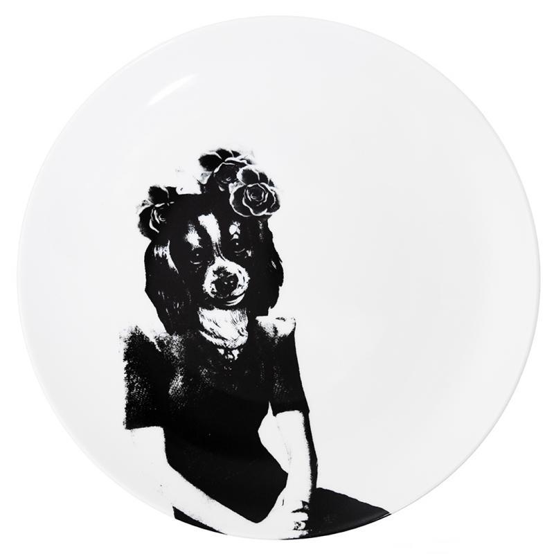Plate Tvilling hund