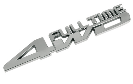 "Emblem ""FULL TIME 4WD """