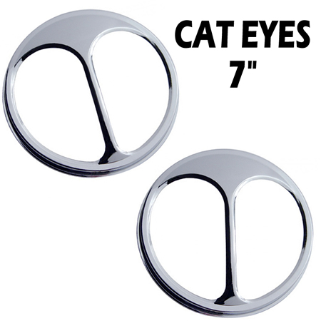 Cat Eyes, 7 tum 2-pack