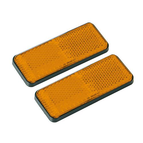 Orange reflexer 90x35mm, 2st