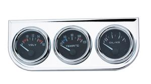 "RetroClassic Gauge ""Gauge Set Volt/Oil/Water"""