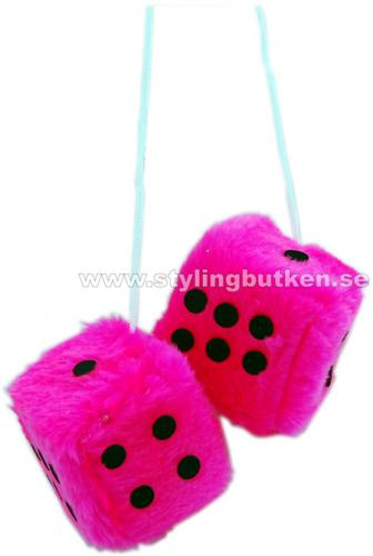 Fuzzy Dice Pink