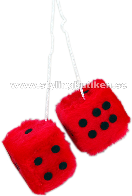 Fuzzy Dice Red
