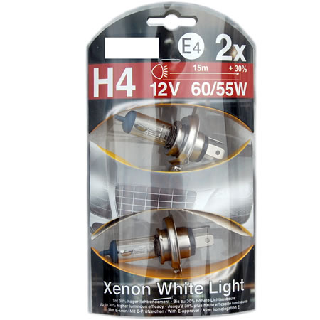 "Halogenlampa H4 ""Enon White"" 2-PACK"