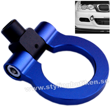 "Tow Hook ""Just for Show"" Blue/Black"