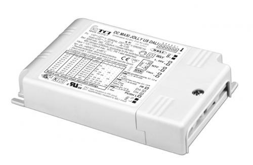 TCI LED Driver DC Maxi Jolly SV DALI 40W 350-1200mA PWM