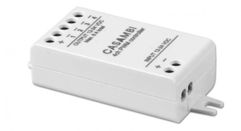 TCI Casambi Lågvoltsdimmer 12/24V DC 4A LED Driver CBU-PWM4-0-C-4027