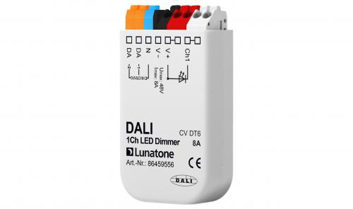 Lunatone DALI 1-k 12-48V LED-Dimmer 8A