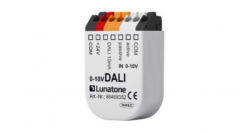 Lunatone 0-10V till DALI converter 10mA OFF/10-100