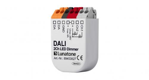 Lunatone DALI 2-k 12-48V LED-Dimmer 4A