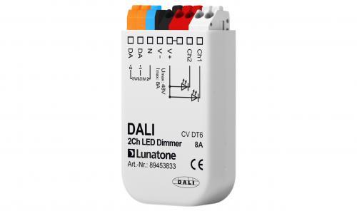 Lunatone DALI 2-k 12-48V LED-Dimmer 8A