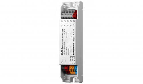 Lunatone DALI DT8 12-48V RGBW LED-Dimmer 16A