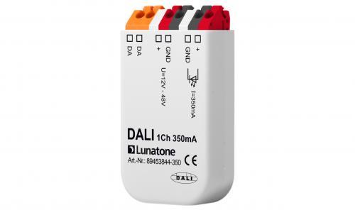 Lunatone DALI 1-k 12-48V CC 350mA LED-Dimmer Dosa