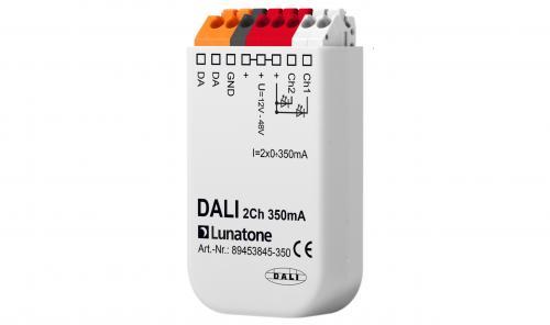 Lunatone DALI 2-k 12-48V CC 350mA (C-) LED-Dimmer