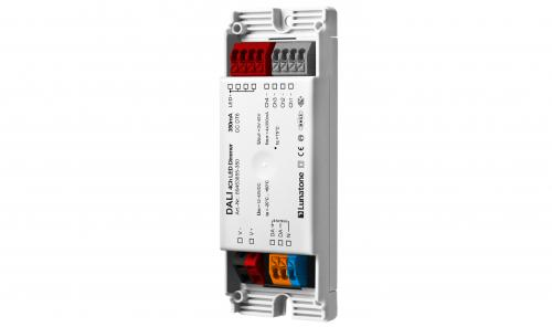 Lunatone DALI 4-k 12-48V CC 350mA (C+) LED-Dimmer