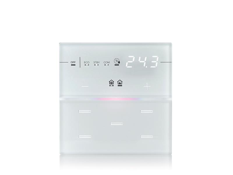 eelectron 9025 Front Standard 5kn Termostat/Hygrostat Vit