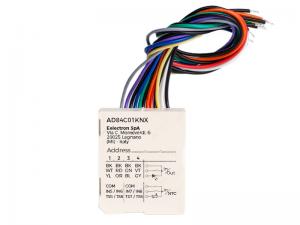 eelectron Tryckknappsgränssnitt 4IN + 4 Temperatur