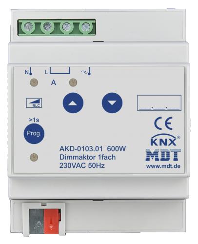 MDT Dimmeraktor 1-kan (1x600W)
