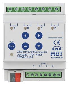 MDT Dimmeraktor 4-kan 1-10V RGBW