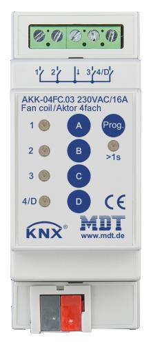 MDT Brytaktor 4-kan AKK Fancoilaktor