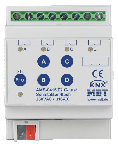 MDT Brytaktor 4-kan AMS Standard strömmätning