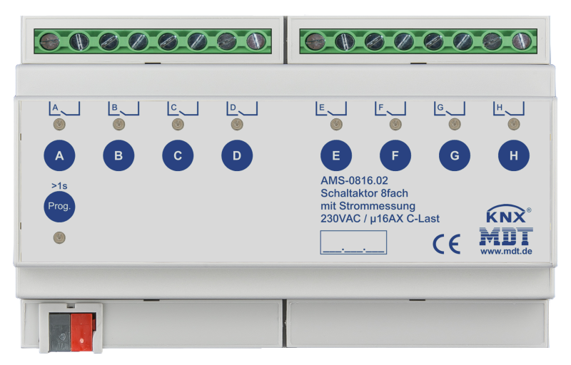 MDT Brytaktor 8-kan AMS Standard strömmätning