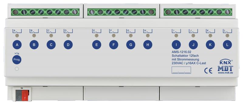 MDT Brytaktor 12-kan AMS Standard strömmätning