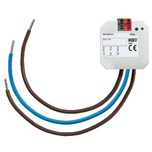 MDT Binäringång 2-kan Dosmontage 230V