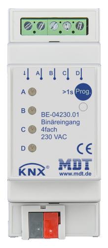 MDT Binäringång 4-kan 230V