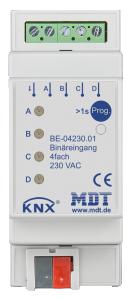 MDT Binäringång 4-kan 230VAC