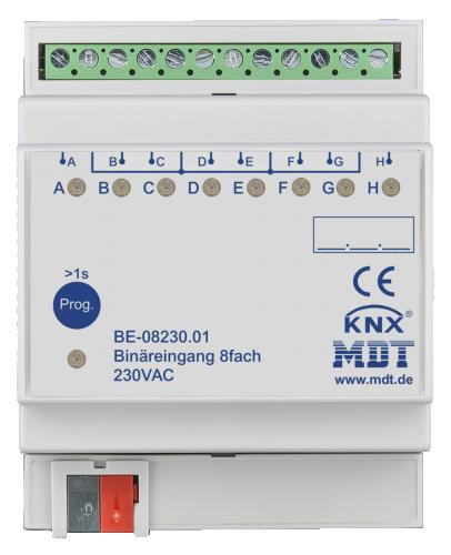 MDT Binäringång 8-kan 230V