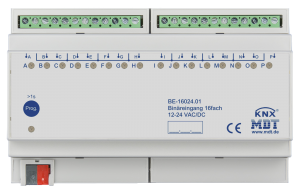 MDT Binäringång 16-kan 24V AC/DC