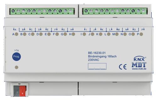 MDT Binäringång 16-kan 230V